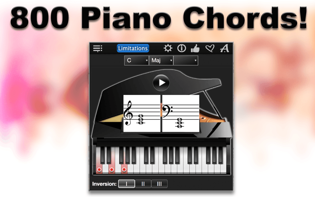 800 Piano Chords!