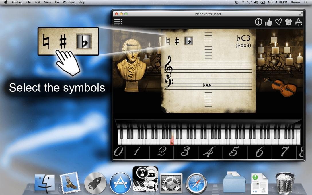 Select the symbols.