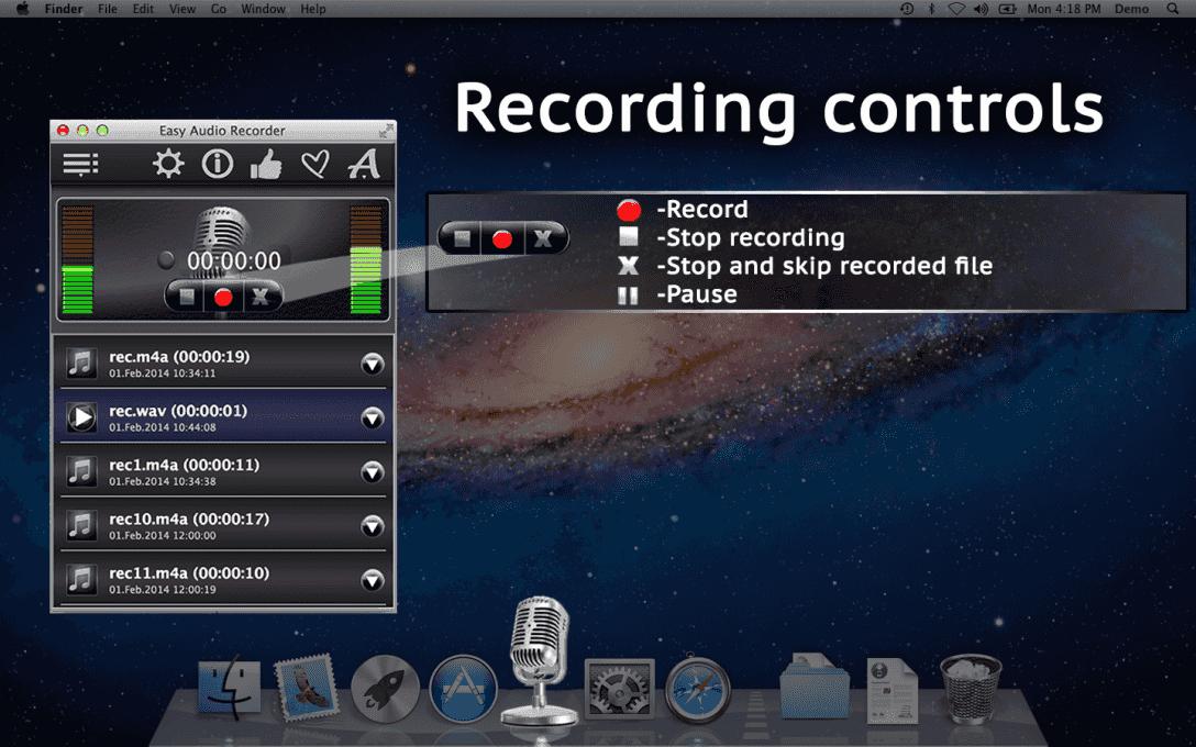 Recording controls